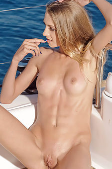 Sexy Stina Naked On A Yacht