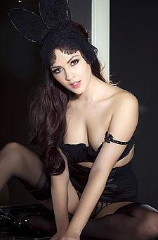 Cassie Laine Playboy Bunny Costume