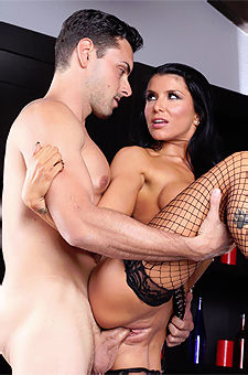 ROMI RAIN SCREWS THE HANDSOME GANGSTER