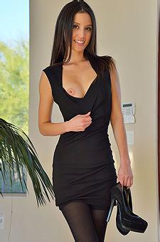 Sensual In Black