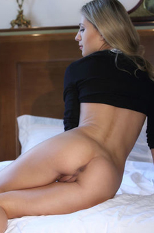 Candy Is Posing With Her Sexy Ass