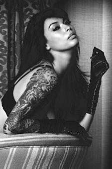 Tera Patrick - Black And White