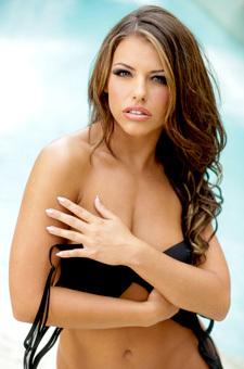 Brunette Adriana Chechik Getting Nude