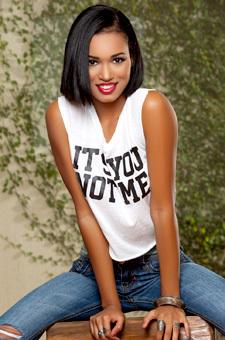 Beautiful Amazing Ebony Playmate Noelle Monique