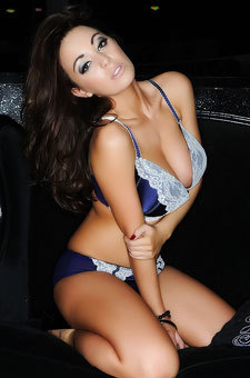 Lindsey Strutt In Sexy Lingerie
