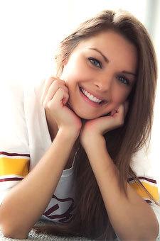 Beautiful Blue Eyed Teen Michelle