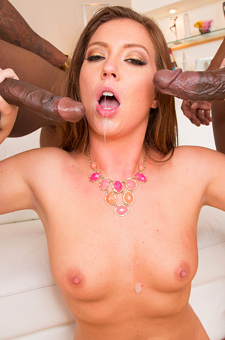 Maddy OReilly Gets A Double Black Penetration