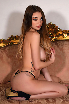 Emelia Takes Off Her Lingerie
