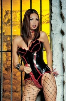 Latex and fishnet