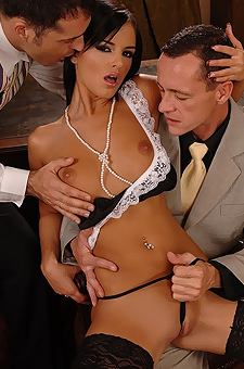 Double Penetration In The Office
