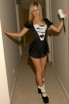 Kasia Is A French Maid